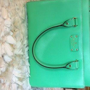 Kate spade purse green med/large